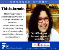 Jazmin-Indiana-Telamon Success Story