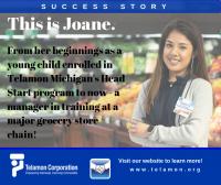 Joane - Michigan - Telamon Success Story