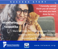 Samantha - South Carolina - Telamon Success Story